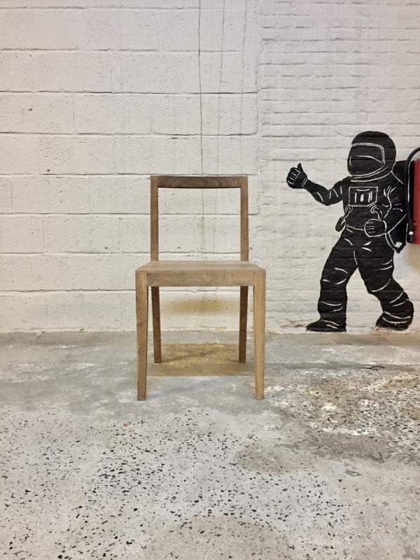 Basic houten stoel